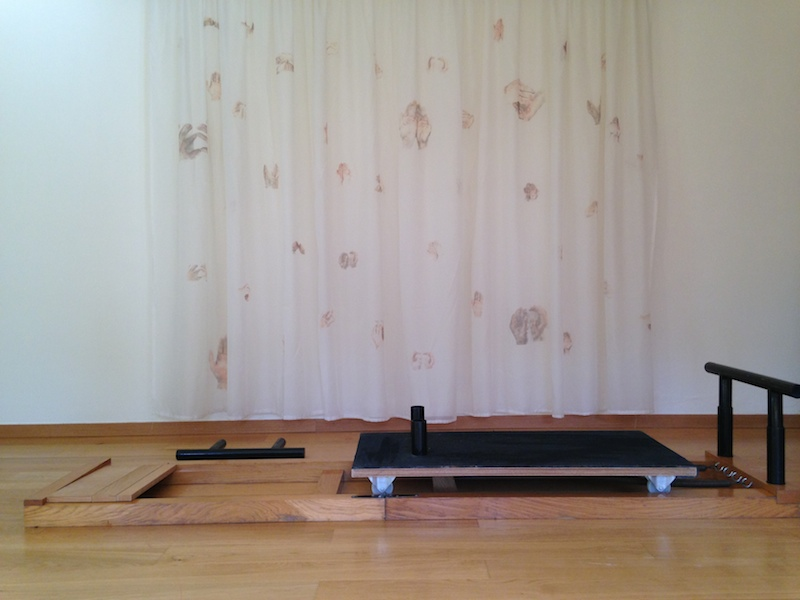 My exact copy of Joseph Pilates folding Reformer