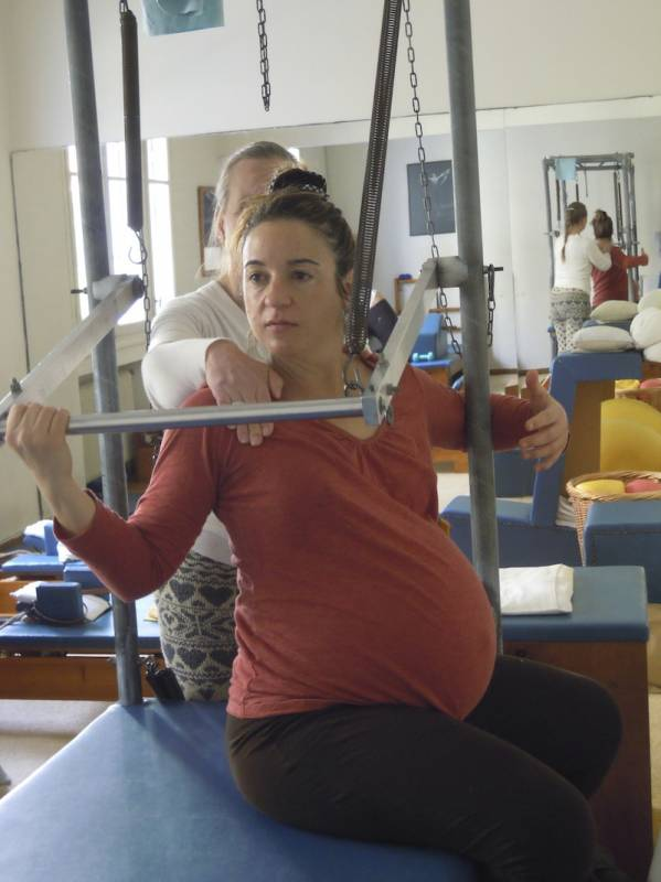 Refined Pilates for pregnancy