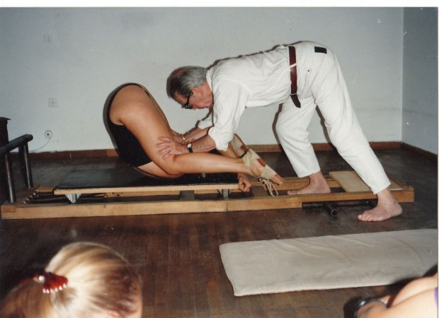 Pilates master teacher Jerome Andrews